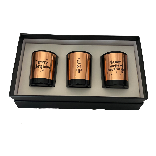 Christmas Candle Trio Box