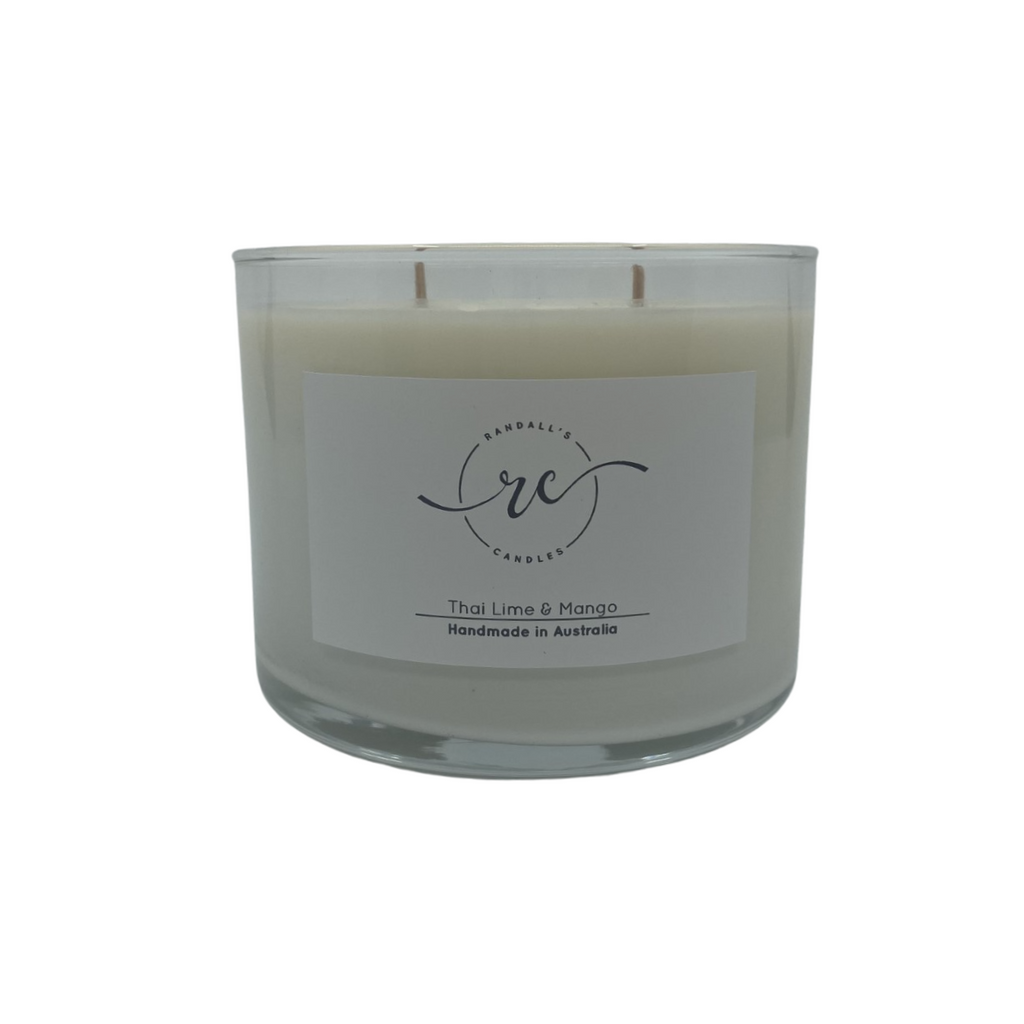Double Wood Wick Soy Candle