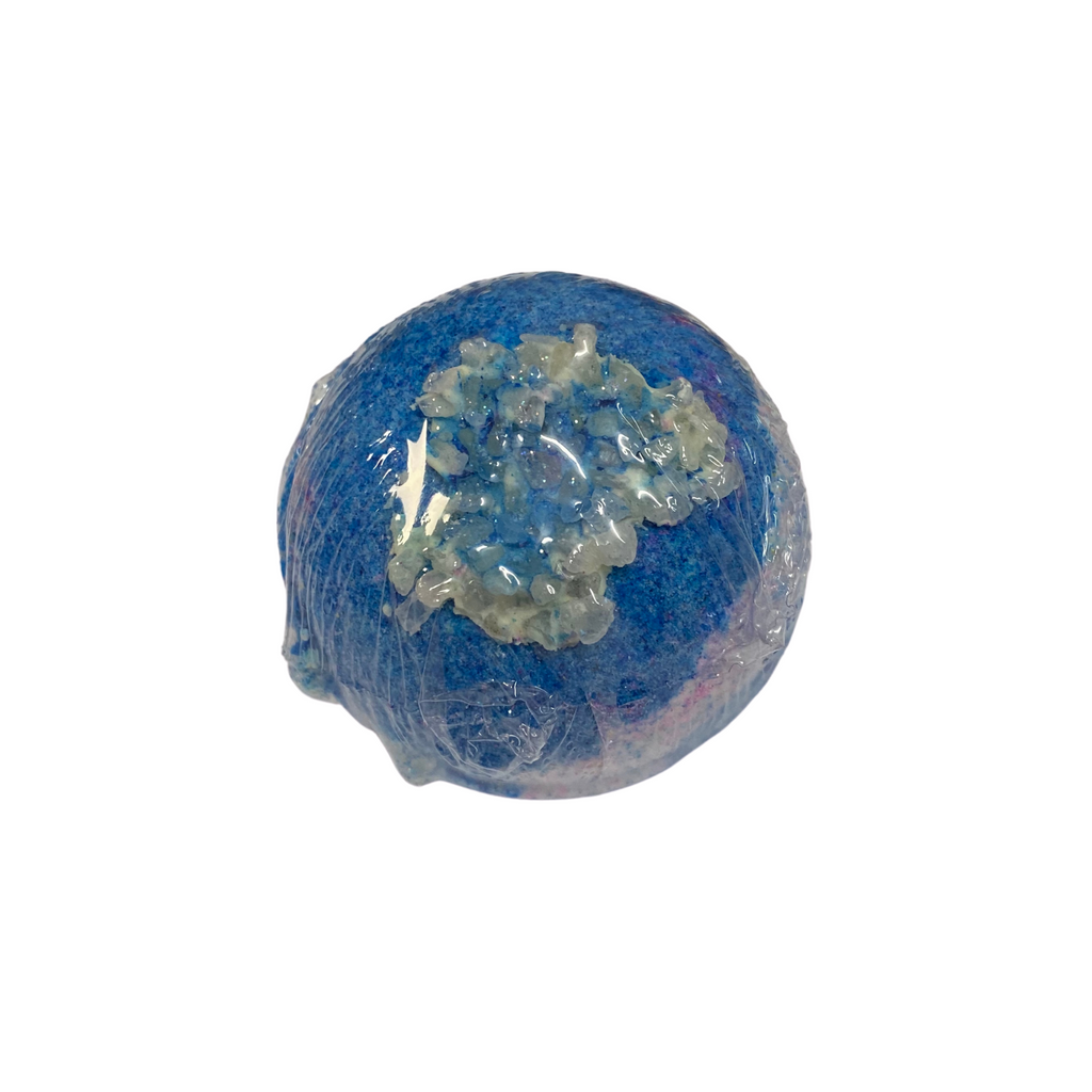 Geode Bath Bomb Blue Bubblegum