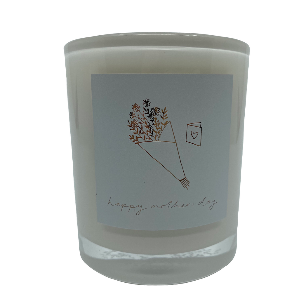 Mother's Day White Candle