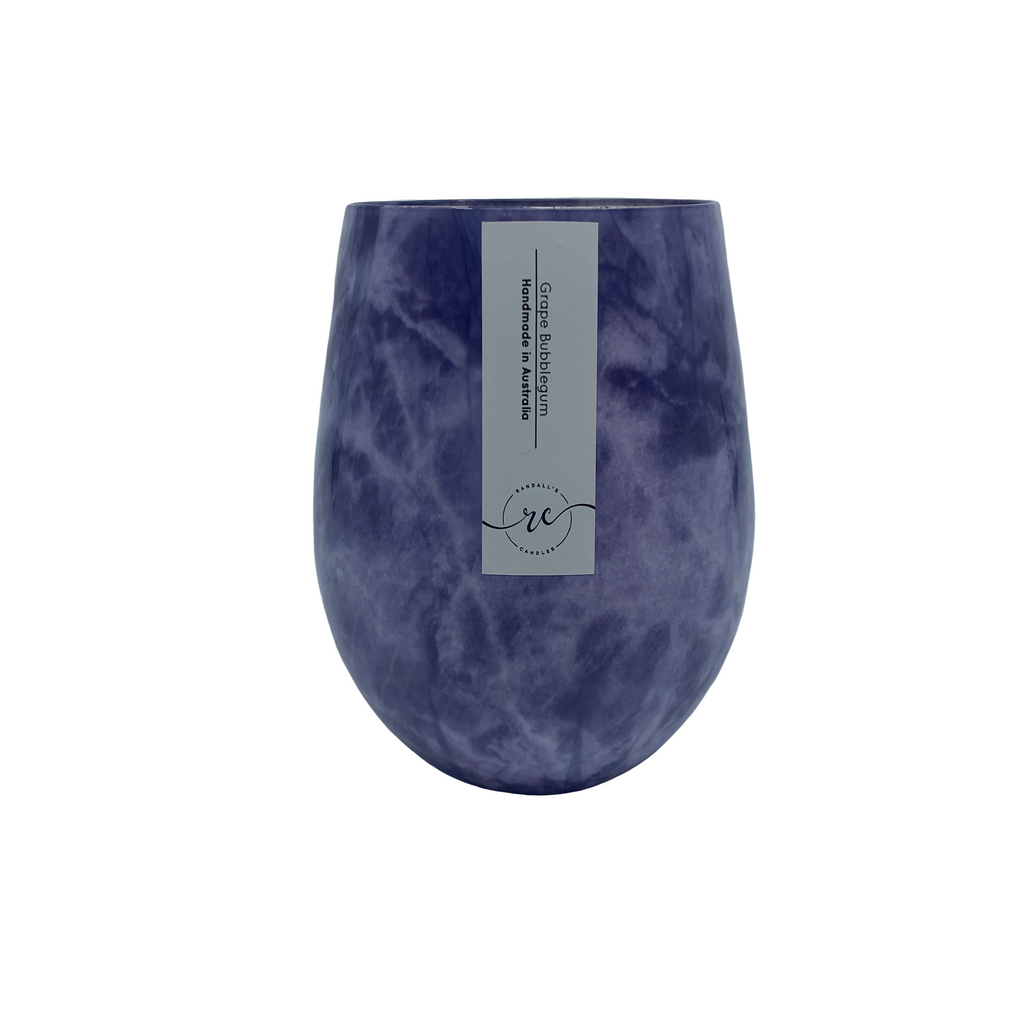 Marble Purple Renee Candle