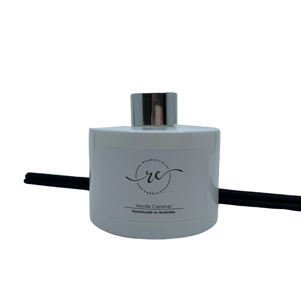 White Reed Diffuser Silver Collar