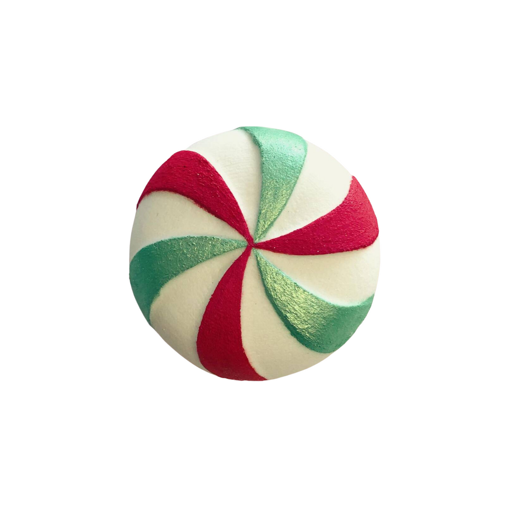 Peppermint Candy Bath Bomb