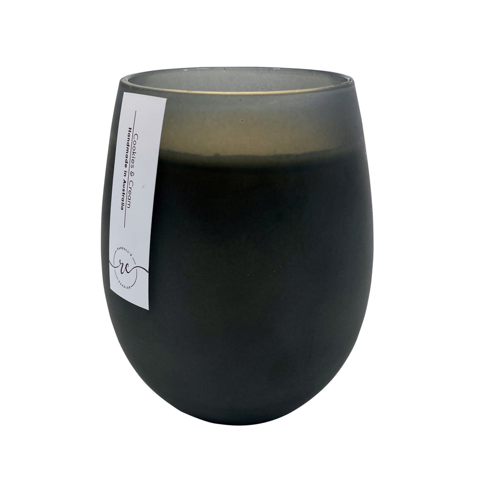 Renee Frosted Black Soy Candle