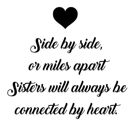 Sister Quote Candle