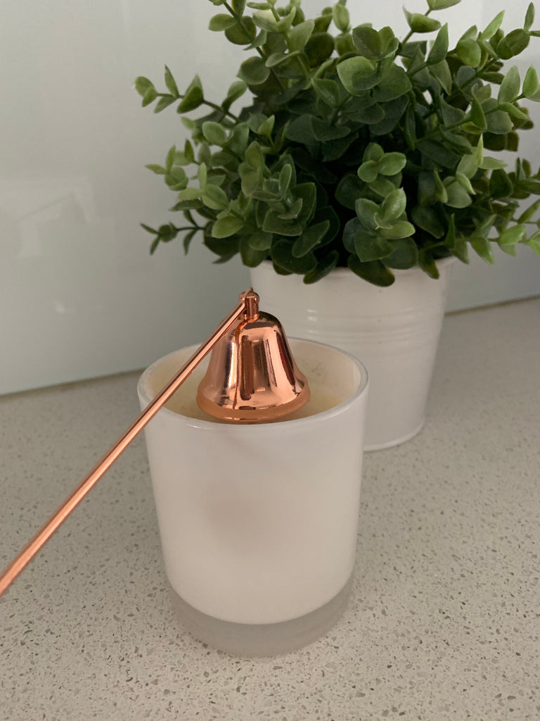 Copper Candle Snuffer