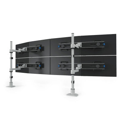 Innovative Articulating Two-Tier Dual LCD Mount - 9112-Switch-D-FM