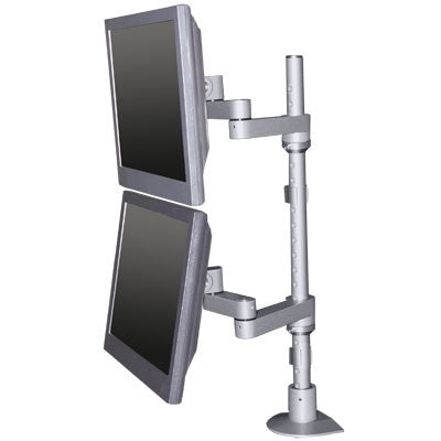 Innovative 9114-D-FM - EURO Series - Articulating dual LCD mount