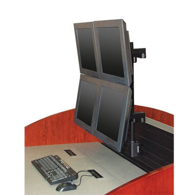 Innovative 9120-D-FM - Quad flat panel mount