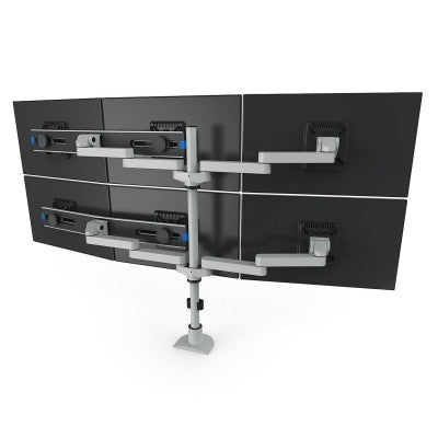 Innovative Two-Tier Triple LCD Mount 9163-Switch-D-FM