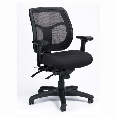 Eurotech Apollo Mesh and Fabric Multi-Function with Seat Slider Office Chair MFT945SL