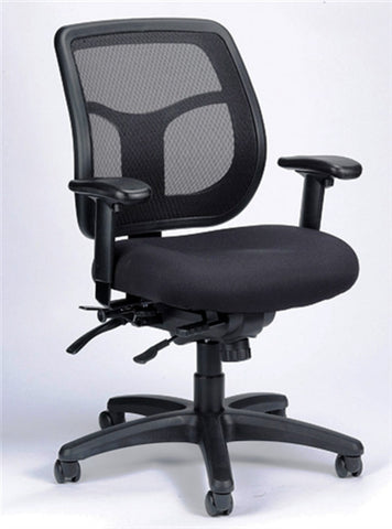 Eurotech Apollo Mesh Back and Fabric Seat Multi-Function Office Chair MFT9450