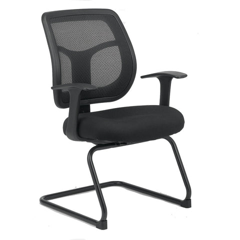 Eurotech Apollo Mid Mesh Back and Fabric Seat Guest Chair MTG9900