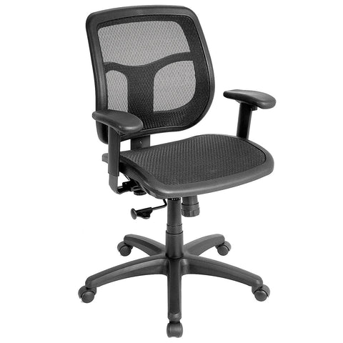 Eurotech Apollo Mid Mesh Seat and Back Office Chair MMT9300