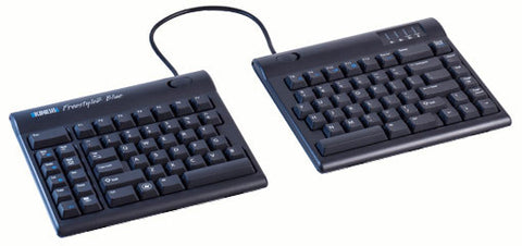 Kinesis Freestyle2 Blue MultiChannel Bluetooth Keyboard For PC KB800PB-BT