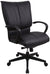 Eurotech Louisville Black Leather Office Chair LE8505