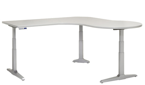 Workrite Sierra HX P Peninsula Workcenter Desk SEHX-X