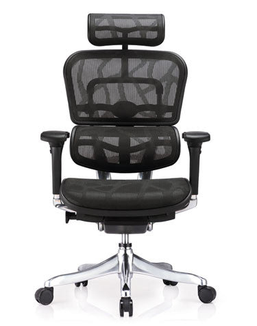 Eurotech Ergo Elite Mesh Office Chair with Headrest ME22ERGLT