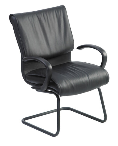 Neutral Posture Embrace Leather Side Chair EMC020
