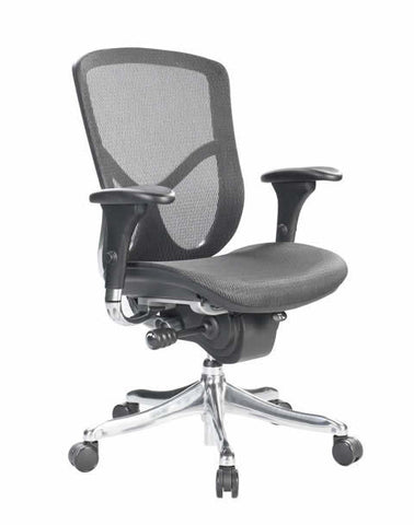 Eurotech Fuzion Luxury Mid Back Mesh Office Chair FUZ8LX-LO