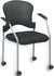 Eurotech Breeze Grey Frame Guest Chair With Casters GREY FS8270