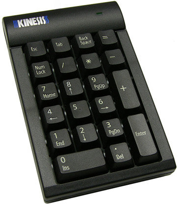 Kinesis Low-Force Numeric Keypad for PC Black  AC210USB-blk