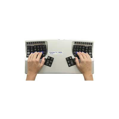 Kinesis Advantage Pro Contoured USB Ergonomic Keyboard for Mac and PC