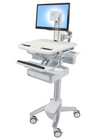 Ergotron StyleView Cart with LCD Pivot 1 Drawer SV43-1310-0