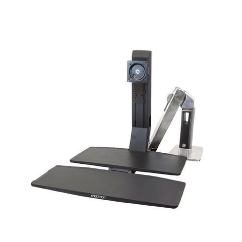 Ergotron WorkFit-A Single LD With Worksurface+ Stand 24-317-026
