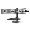 The Winston Quad Freestanding Sit-Stand Workstation WNST-4-FS