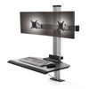 The Winston Compact Dual Clamping Sit-Stand Workstation WNST-2-CM-S