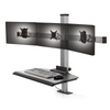 The Winston Compact Triple Clamping Sit-Stand Workstation WNST-3-CM-S