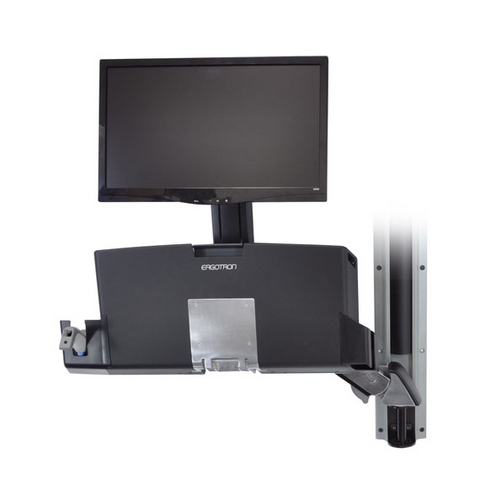 Ergotron StyleView Sit-Stand Combo Arm With Worksurface 45-260-026