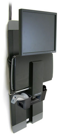 Ergotron StyleView Vertical Lift Patient Room Mounting Kit 60-609-195