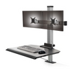 The Winston Dual Clamping Sit-Stand Workstation WNST-2-CM