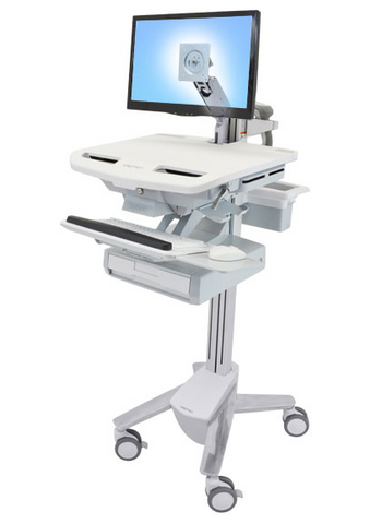 Ergotron StyleView Cart with LCD Arm 1 Drawer SV43-1210-0