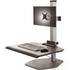 The Winston Single Freestanding Sit-Stand Workstation WNST-1-FS