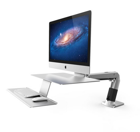 Ergotron WorkFit-A Sit-Stand Workstation For Apple Stand 24-414-227