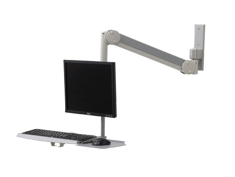 Intellaspace Monitor Mount with Keyboard Healthcare Solutions TXWMK131-S