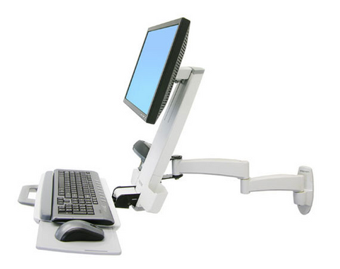 Ergotron 200 Series Combo Arm (white) 45-230-216