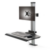 The Winston Compact Single Clamping Sit-Stand Workstation WNST-1-CM-S
