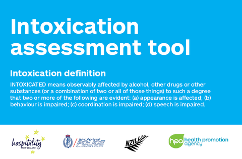 Intoxication Assessment Tool (A6)