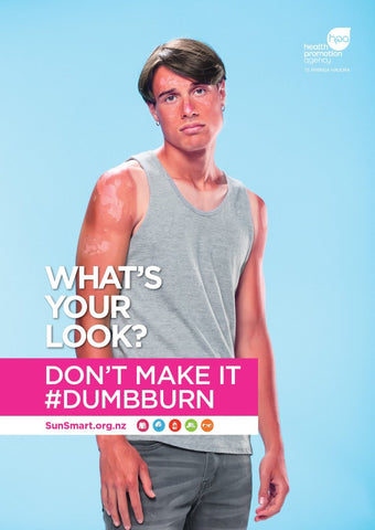 What's your look? Don't make it #dumbburn poster - Male