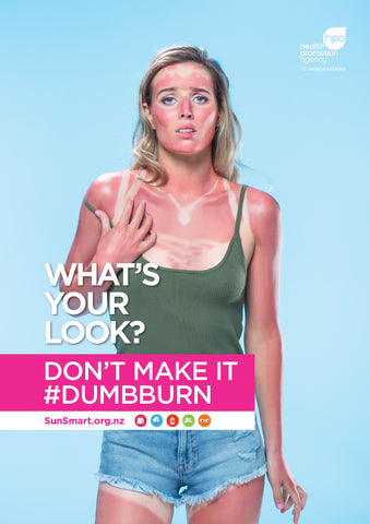 What's your look? Don't make it #dumbburn poster - Female