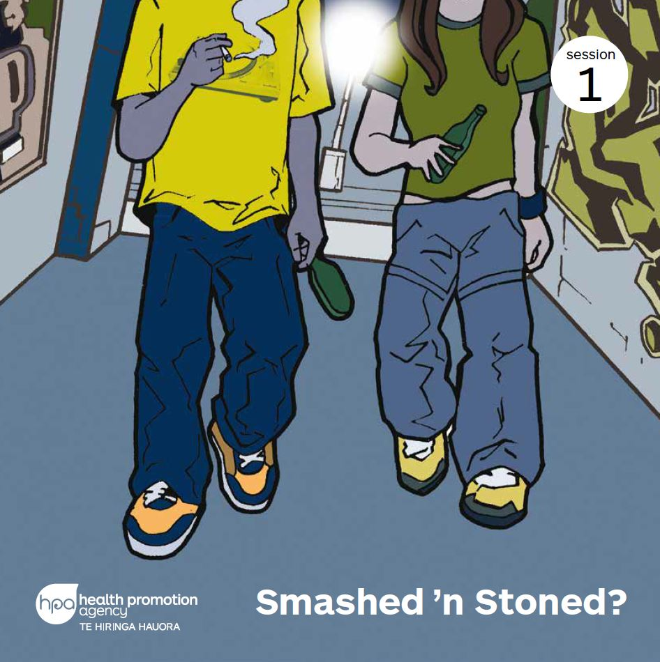 Smashed n Stoned? programme workbooks