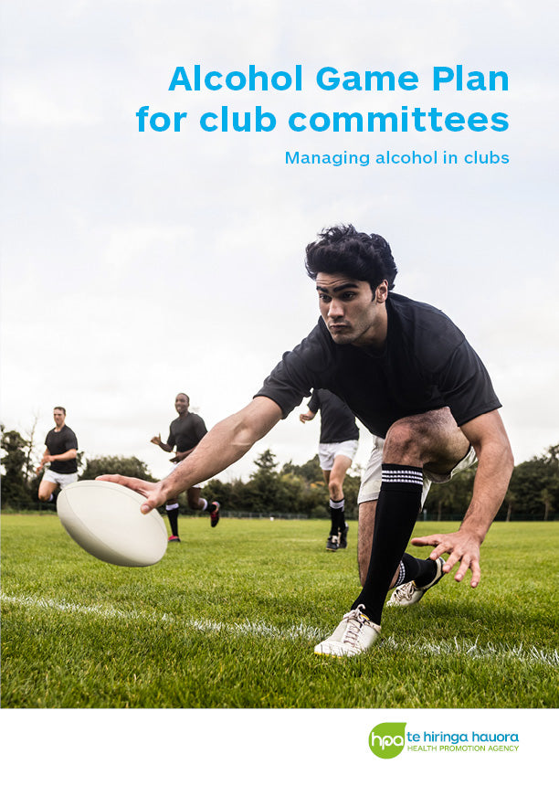 Alcohol Game Plan for club committees - Managing alcohol in clubs