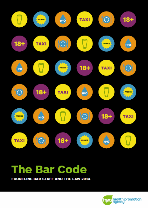 The Bar Code: Frontline Bar Staff and the Law booklet