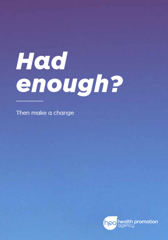 Had enough? - Pack (DVD & workbook)