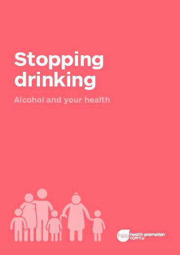 Stopping Drinking booklet