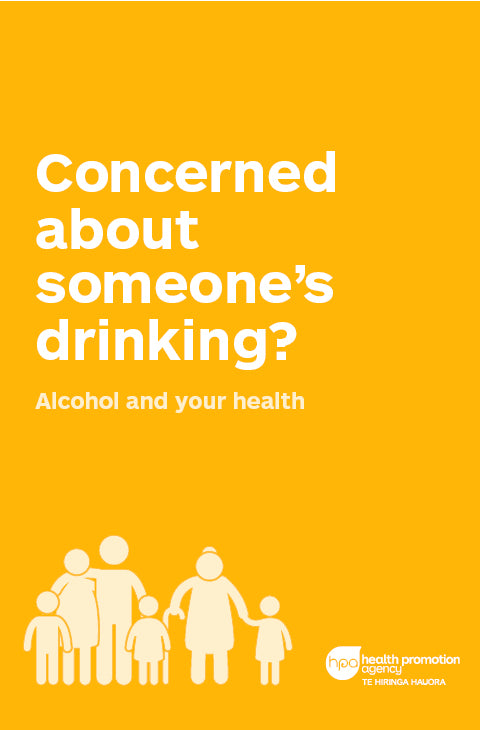 Concerned about Someone's Drinking? booklet